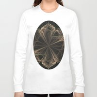 ornate Long Sleeve T-shirts featuring Ornate Blossom by Charma Rose