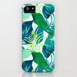 Tropical frenzy iPhone Case