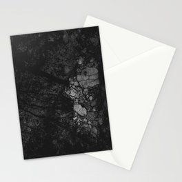 Luxury Black Marble Stationery Cards