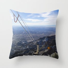 Sandia Tram Throw Pillow