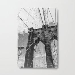 Lines of Brooklyn Metal Print