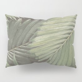 Tropical Leaves Pillow Sham