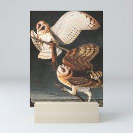 Barn Owl by John James Audubon Mini Art Print