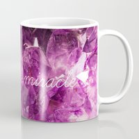 minerals Mugs featuring chase the miracle on minerals by mb13