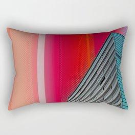 Gran Via Bcn Rectangular Pillow