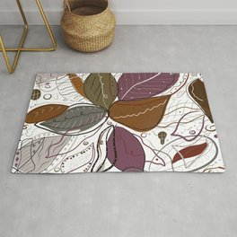 Abstract active wear pattern Rug