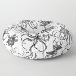 Octopus Kraken Everywhere Floor Pillow