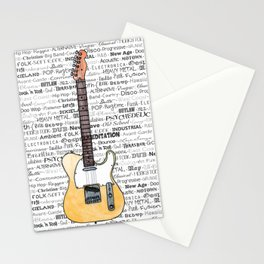 Music for the Soul & Spirit - Off-White Series Stationery Cards