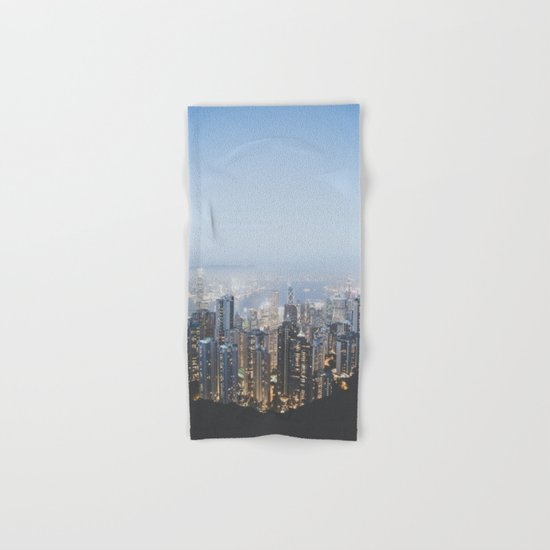 Hong Kong (portrait) Hand & Bath Towel