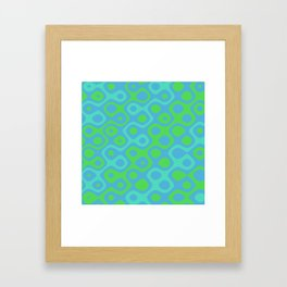 Brain Coral Green Banded - Coral Ree Series 020 Framed Art Print