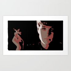 More Human Than Human Art Print