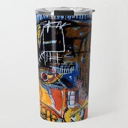 cabeza basquiat craneo Travel Mug
