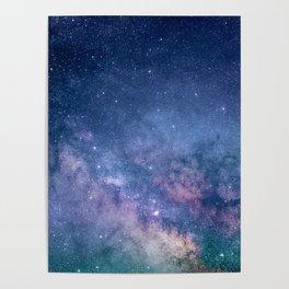 Milky Way Stars (Starry Night Sky) Poster