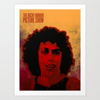 rocky horror picture show Art Prints featuring The Rocky Horror Picture Show by Rabassa