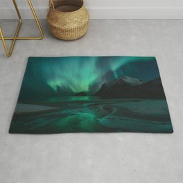 Green Beauty - Landscape and Nature Photography Rug