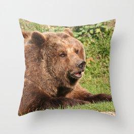Awesome Baer Throw Pillow