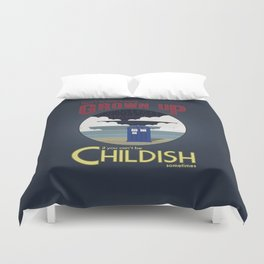 There's No Point in Being Grown Up... Duvet Cover