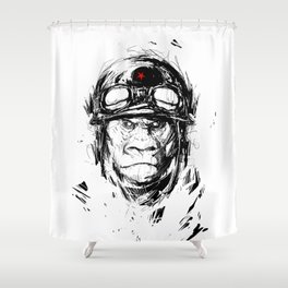 Gorila Shower Curtain