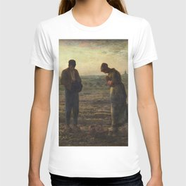 The Angelus by Jean Francois Millet T-shirt