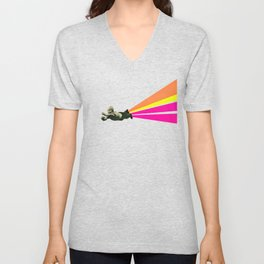 Superhero Unisex V-Neck