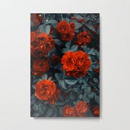 Red flower 91 Metal Print