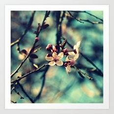 Blooming Beautiful Art Print
