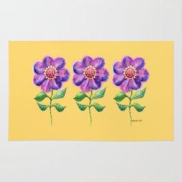 A Study in Violet Rug
