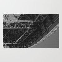 bridge Area & Throw Rugs featuring Bridge by Christophe Chiozzi