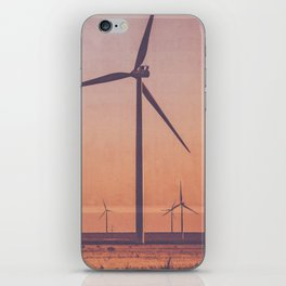 Southwest Windmills Route 66 iPhone Skin