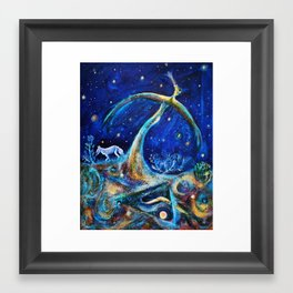 The Fifth Day of Creation Framed Art Print