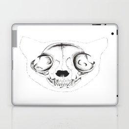 Skull Cat Laptop & iPad Skin