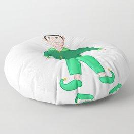 elf! shaded, transparent Floor Pillow