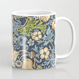 William Morris Strawberry Thief Restored Coffee Mug