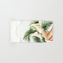 These Boots - Palm Leaves Hand & Bath Towel