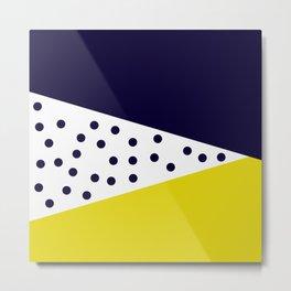 Cult Living Scandinavian Abstract Dot Cushion #society6 #decor #buyart #artprint Metal Print
