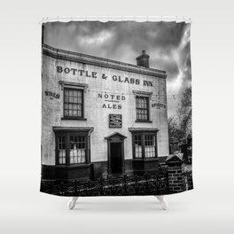 British Pub Shower Curtain