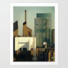 Milano City Art Print