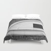 theatre Duvet Covers featuring Theatre in a Wall by cinema4design
