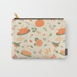 Happy Thanksgiving! Carry-All Pouch