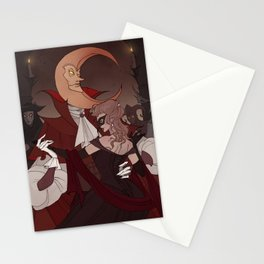 Drawlloween Masquerade Stationery Cards