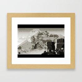Parasomnia 04 n&b Framed Art Print