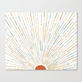 Sunshine All Around Canvas Print