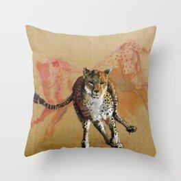 Cheeta Throw Pillow