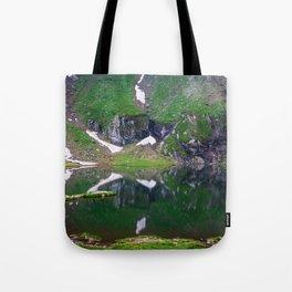 Green Lake Reflection Tote Bag