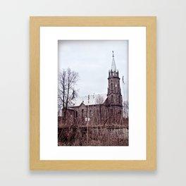 old Castel Framed Art Print
