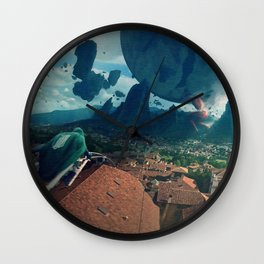 Attack on Titan Colossal T Wall Clock