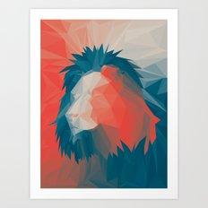 Courage 2 Art Print