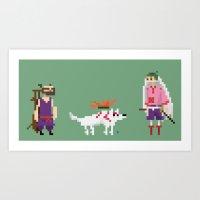 okami Art Prints featuring Okami by GregSuj