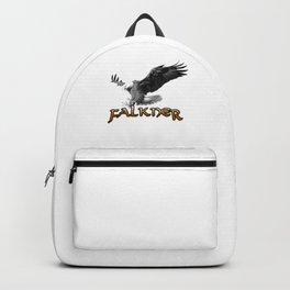 Bird Watching It's Falconer Falkner Thing Backpack
