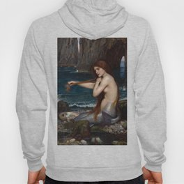 John William Waterhouse - A Mermaid Hoody
